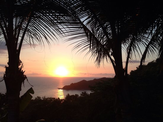 Hotel Punta Islita, Autograph Collection: Sunset view at dinner