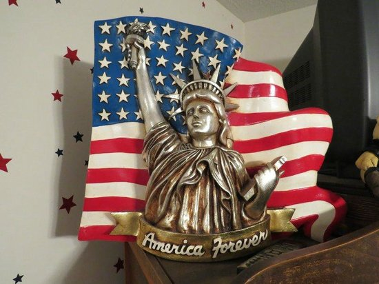 "Renata's Bed and Breakfast: Unser ""American Room"""