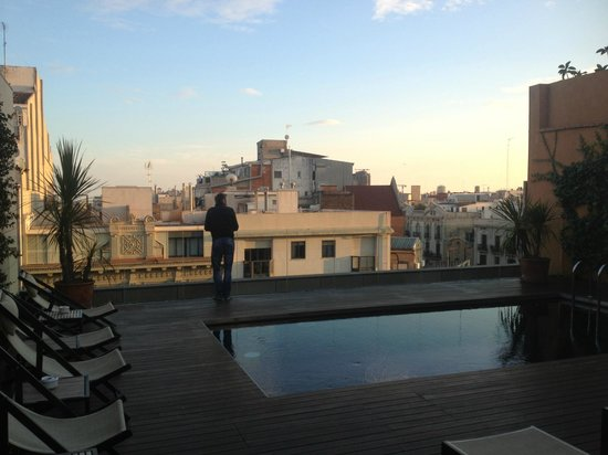 EuroPark Hotel : Rooftop Pool