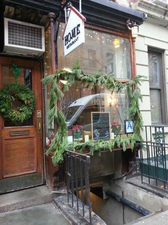 Home: Restaurant exterior