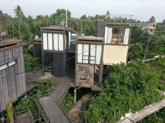 Bangkok Tree House: Hotelrooms