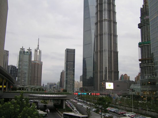 Pudong New Area: Небоскрёбы