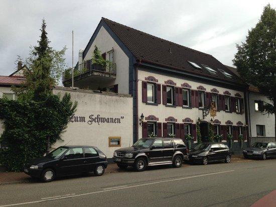 Gasthaus Zum Schwanen: von außen