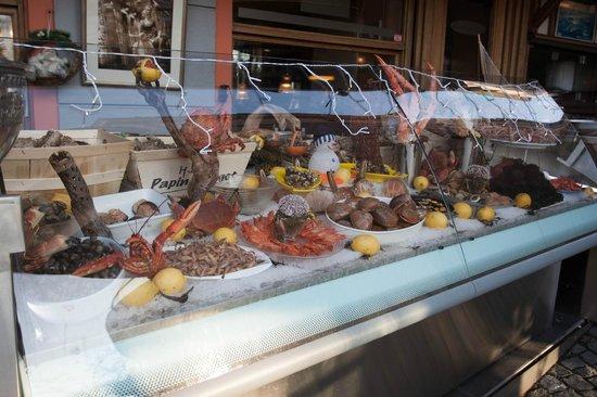 La Rouvenaz: Le Banc de Fruits de Mer