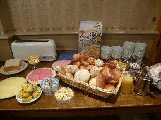 Hotel Lehouck : ontbijt