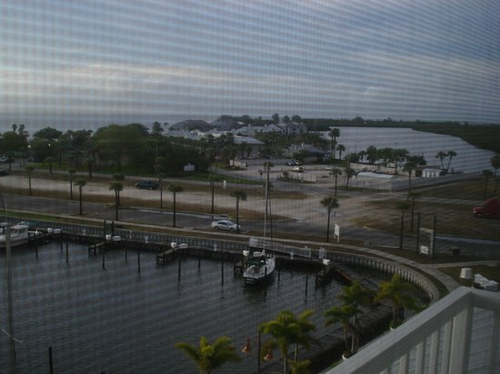 The Resort & Club at Little Harbor: view from our room. It was raining the first 2 days we got there