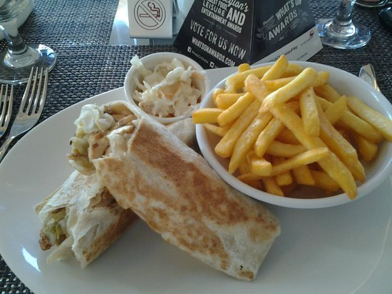 J5 Rimal: Meat Wrap Meal