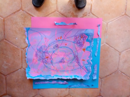 Cristi Fer Art Gallery and Workshops: my first abstrat painting