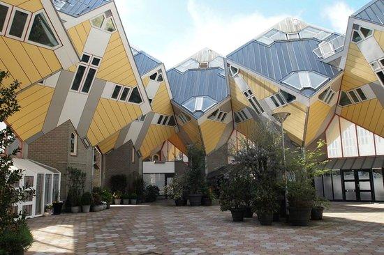 Foto de kijk kubus show cube rotterdam - Casas cube opiniones ...