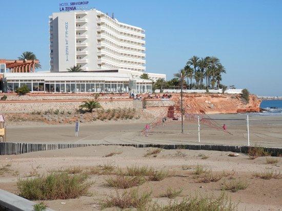 Playa de la Zenia: La Zenia Beach/Hotel
