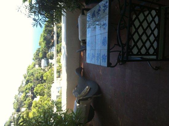Villa Calypso: Terrazzo privato