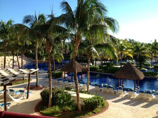Barcelo Maya Palace: view from our balcony