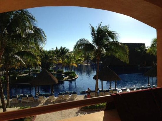 Barcelo Maya Palace Deluxe: View from Balcony