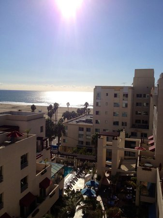 JW Marriott Santa Monica Le Merigot: My balcony view!
