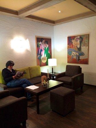 Kongress Hotel Davos : Reception