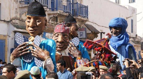 Riad Mimouna: die Parade