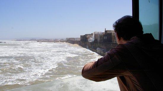 Riad Mimouna: Blick vom Zimmer