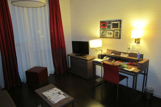 Adagio Brussels Grand Place : The room 2