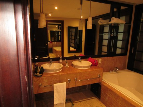 The Reserve at Paradisus Punta Cana: One bedroom master suite (one of two sink areas)