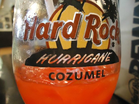 Hard Rock Cafe: Taça de Drink - Souvenir