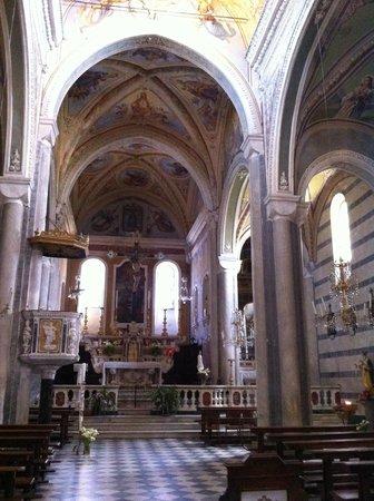 Chiesa di San Pietro: San Pietro a Corniglia, interno verso il coro