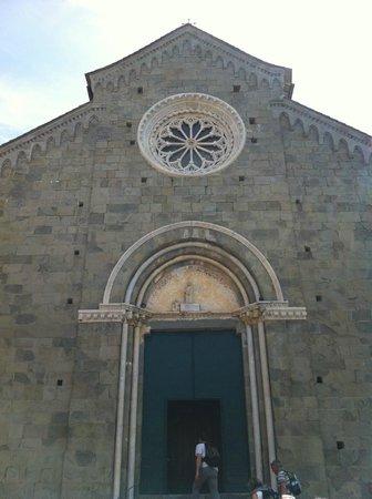 Chiesa di San Pietro: San Pietro a Corniglia, facciata