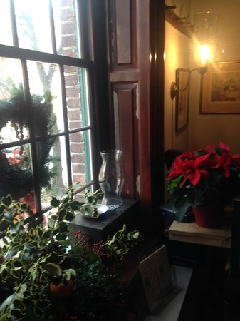 Gadsby's Tavern : Out one of the windows in December