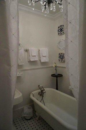 Pettigru Place Bed and Breakfast: Der Blick aus der Dusche