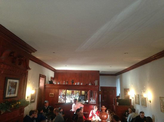 Gadsby's Tavern : Looking at the Main Part of the resturant