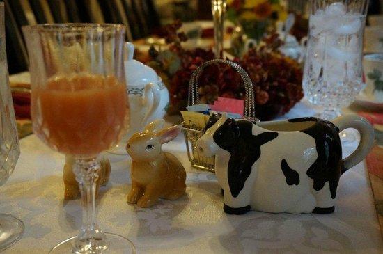 Pettigru Place Bed and Breakfast: Der Frühstückstisch