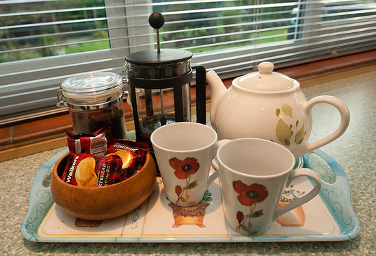 The Garden Room: Tea and Biscuits whenever you like.