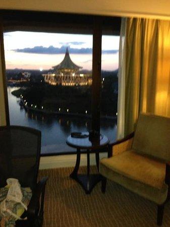 Hilton Kuching: view from window