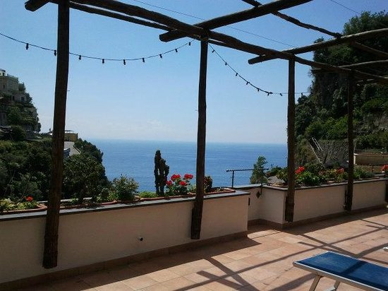 La Pergola Hotel: Terrasse