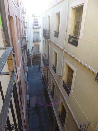 Hostal Aragon : Vistas desde la habitación