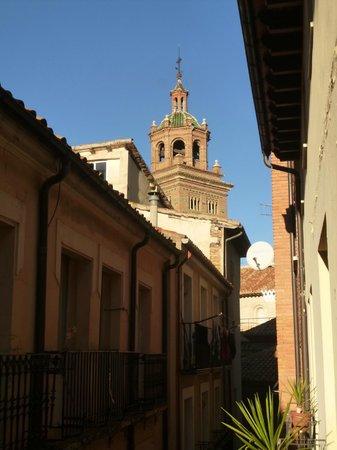 Hostal Aragon : Vistas 323, torre de la catedral