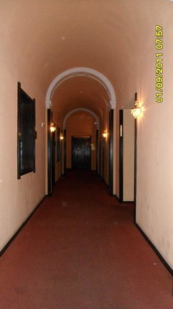 Hotel Opatija: koridorlar