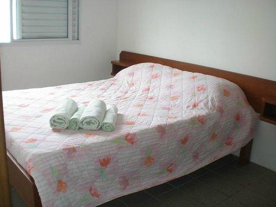Residencial Mar & Dunas: Quarto de casal.