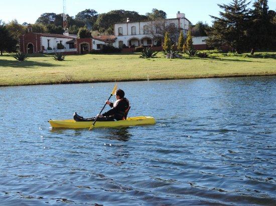 Hacienda de la Luz Boutique & Mountain Park Resort: Kayak