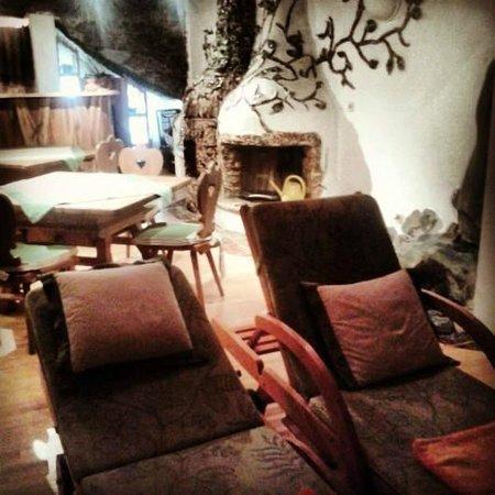 Hotel Prägant: altra visuale della sala relax