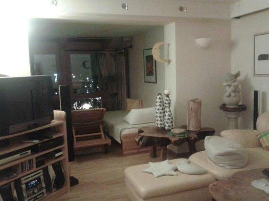 Hotel Prägant: la sala relax