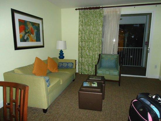Sheraton Vistana Villages - International Drive: Living room