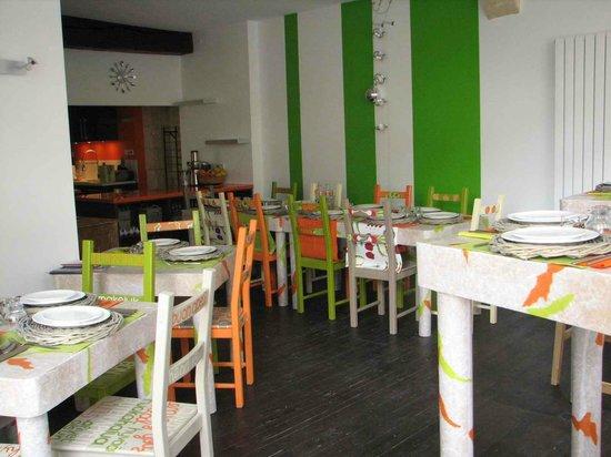 Carottes et Gingembre : La salle de restaurant