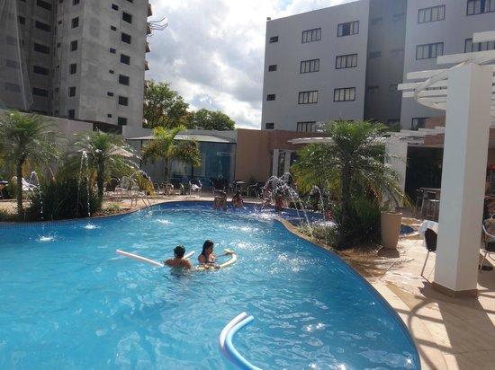 Nadai Confort Hotel & SPA: Pool view
