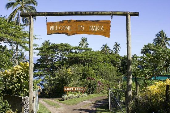 Nakia Resort & Dive : Nakia entrance