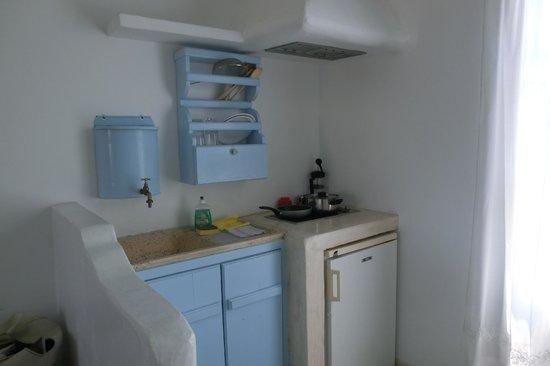 Thalassitra Village Hotel: angolo cucina