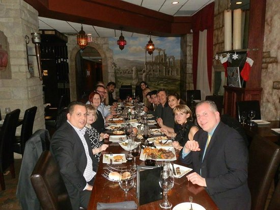 Mazaar Lebanese Cuisine : Windsor Club staff at Mazaar Restaurant