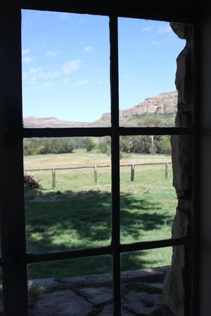 Franshoek Farm and Polo School: view from stables room