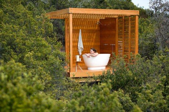 Bay of Fires Lodge Walk bathing pavilion
