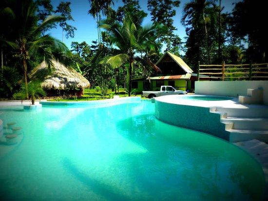 3 Bamboo: Swimming pool