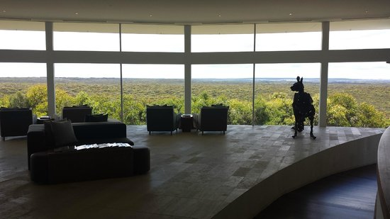 Southern Ocean Lodge : view from lobby